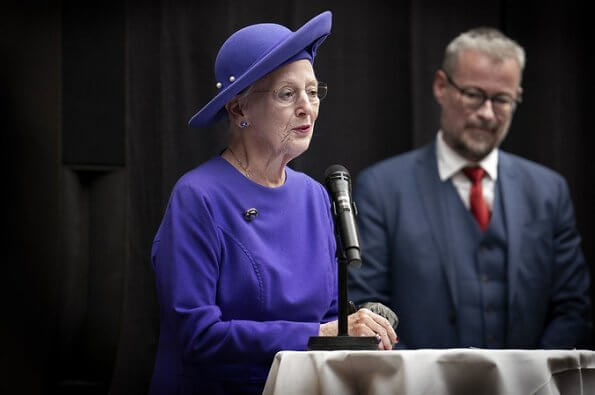 Queen Margrethe II met with German Foreign Minister Heiko Maas. Danish-German Cultural Friendship Year 2020.