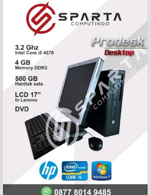 Jual Paketan CPU Seragam HP Core I5 4570 Gen4 Haswel Ram 4 Gb Ddr3