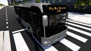 Free Download City Bus Simulator 2018 PC Game Full Version