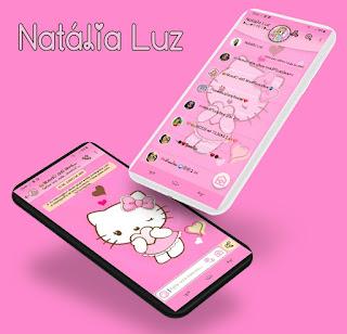 Hello Kitty Theme For YOWhatsApp & Aero WhatsApp By Natalia Luz