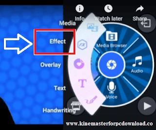 kinemaster Effect Button