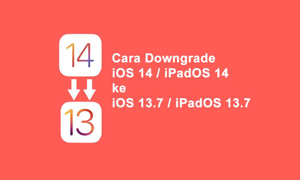 cara downgrade ios