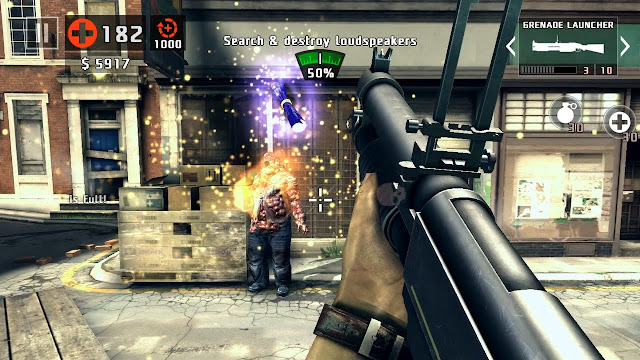 DEAD TRIGGER 2 Mod APK - Game bắn zombie online cho android