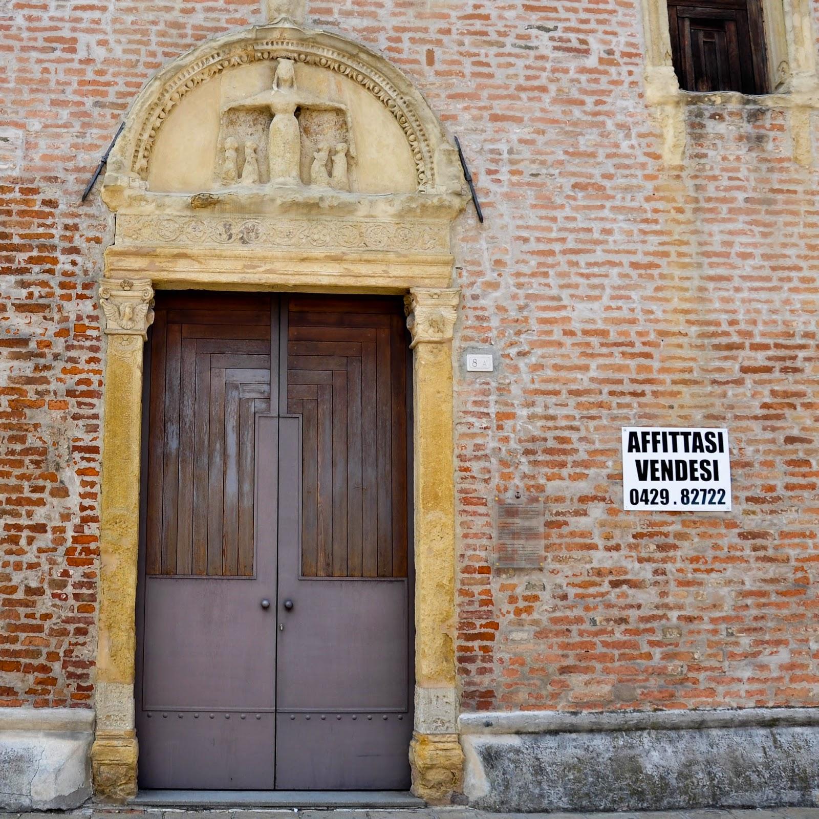 The Old Hospital of the Nativity in Montagnana, Veneto, Italy
