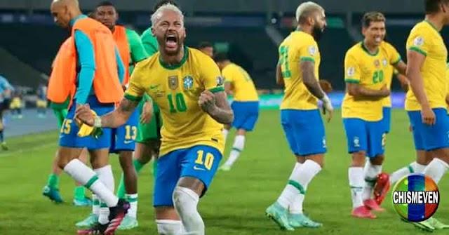 Brasil le ganó a Colombia en un partido lleno de polémicas