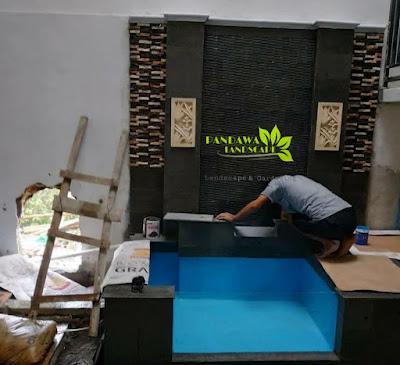 Tukang kolam minimalis koi surabaya