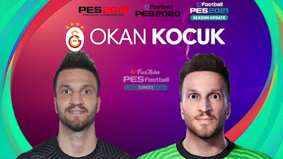 PES 2021 Faces Okan Kocuk by PES Football Turkey