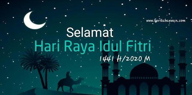 Ucapan Selamat Hari Raya Idul Fitri 1441 H Yang Bisa Di ...