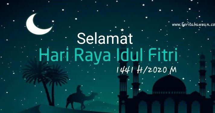 Desain Kartu Ucapan Idul Fitri 2020 Sendiri Dengan 5 ...