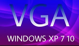 cara instal vga di windows 10