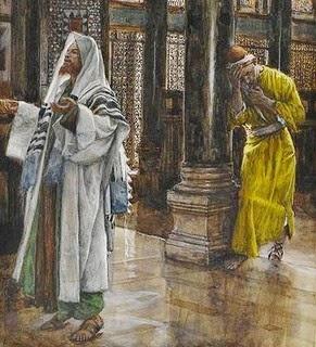 Resultado de imagen para oracion del fariseo y el publicano