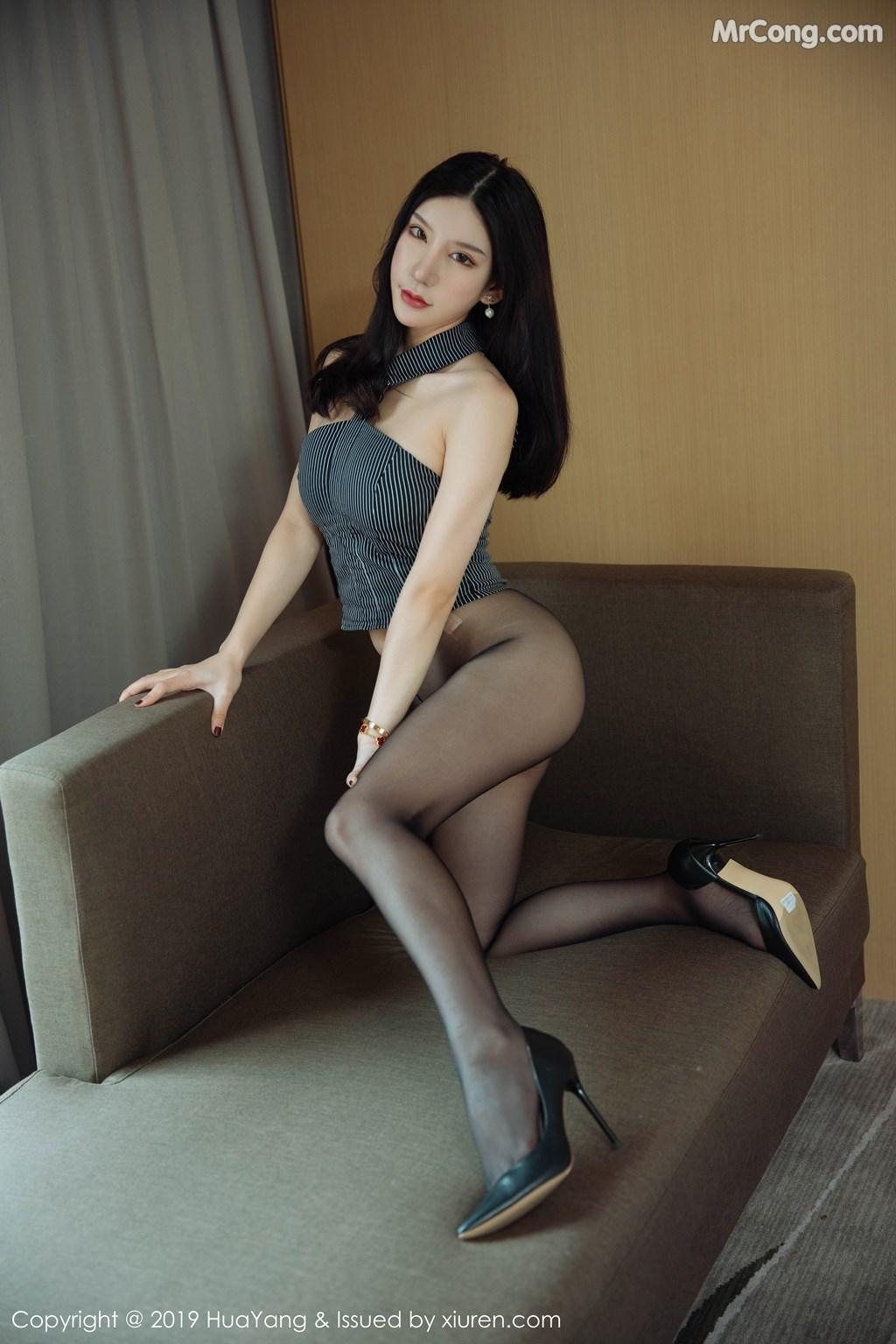 Image HuaYang-2019-04-03-Vol.127-Zhou-Yuxi-Sandy-MrCong.com-017 in post HuaYang 2019-04-03 Vol.127: Zhou Yuxi (周于希Sandy) (43 ảnh)