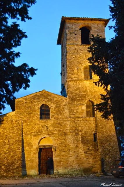 Canzano, Abbazia di San Salvatore