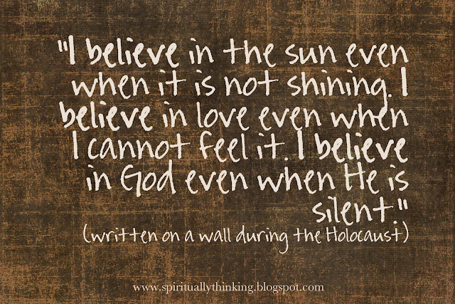 Faith And Belief Quotes: And Spiritually Speaking: I Believe