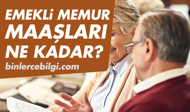 Emekli memur maaşı ne kadar oldu? Temmuz zammı sonrası SGK ve BAĞ-KUR en düşük emekli maaşları 2021 kaç lira olacak? emekli memur maaş listesi. Güncel BAĞKUR ve SGK emekli aylık tablosu.