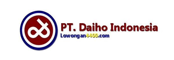 Lowongan Kerja PT. Daiho Indonesia GIIC Cikarang Desember 2020