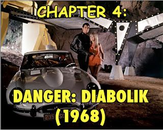 Danger Diabolik Italian superhero Mario Bava 1968