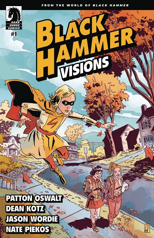 Cover of Black Hammer Visions #1