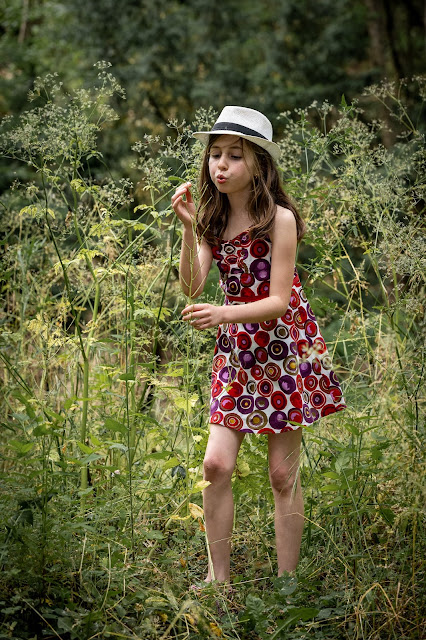 Elleanor de Provence robe fille colorée