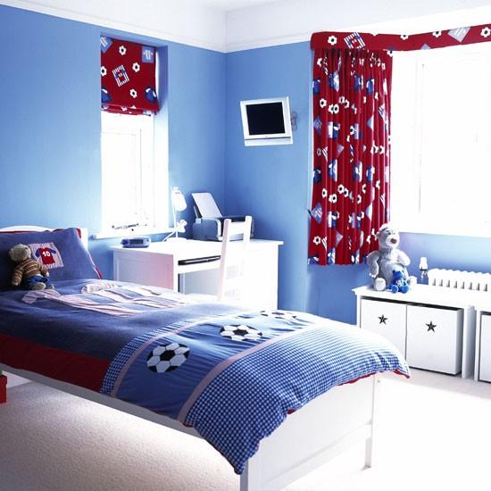 Boys Red Bedroom Ideas: Boys Football Bedroom Ideas