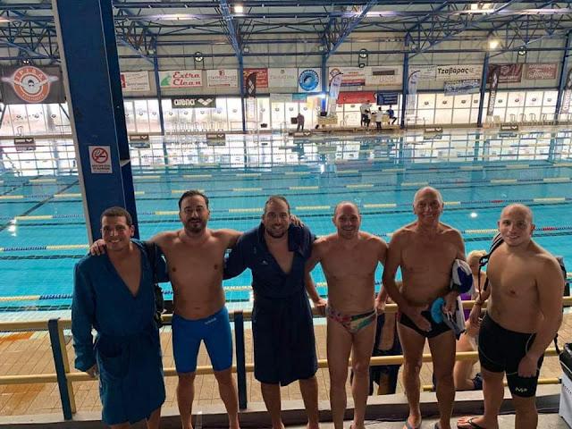 Με πολλέ επιτυχίες οι Ιπτάμενοι Αργολίδας στο Πανελλήνιο Πρωτάθλημα Κολύμβησης Masters