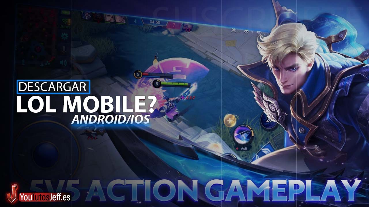 LOL para Android?🤔Descargar Mobile Legends: Bang Bang Gratis