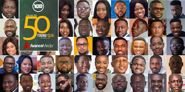 Sarkodie, Stonebwoy, Delay, Naa Ashorkor make 2021 Top 50 Young CEOs in Ghana List
