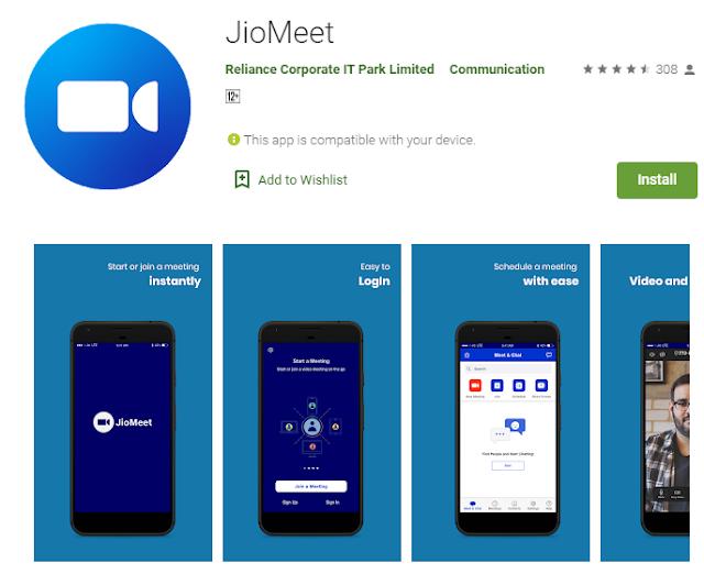 jiomeet app