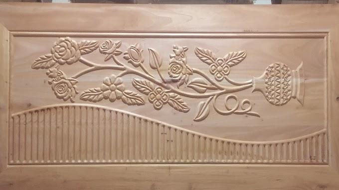 Door Design By CNC Wood Router