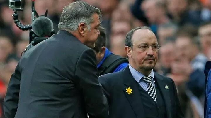 Allardyce says Benitez will gain Everton fans support if he starts winning