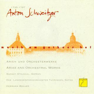 Schweitzer: Arias and Orchestral Works