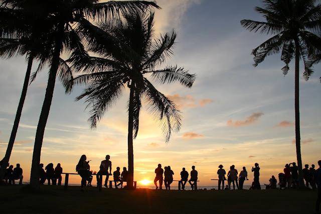 Sunset di Cococabana Miri