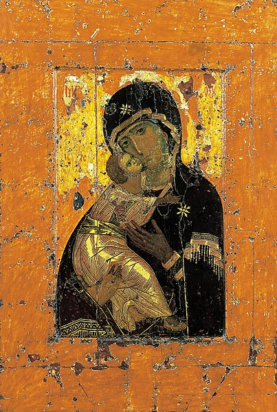 Our Lady of Vladimir – One of the Most Famous Russian Icons