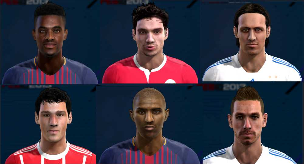 PES 2013 Facepack Update #22/07/2017 by Pablobyk