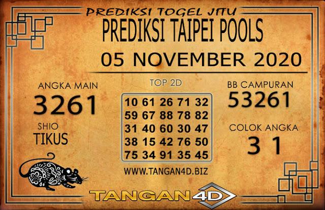 PREDIKSI TOGEL TAIPEI TANGAN4D 05 NOVEMBER 2020