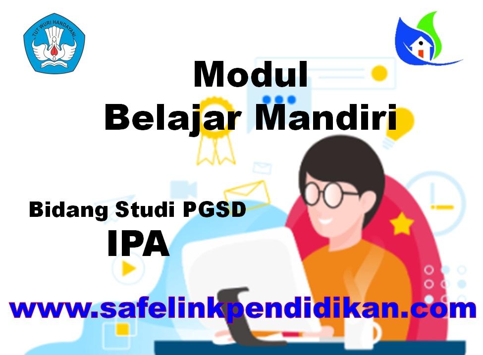 Modul Belajar Mandiri IPA PGSD