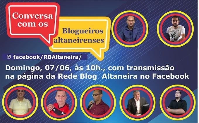 Primeiro debate virtual entre blogueiros de Altaneira será realizado no próximo domingo