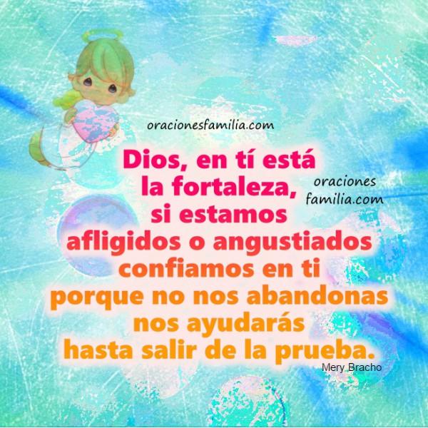 La Mejor oración poderosa cuando necesito ayuda de Dios para que provea a mis necesidades. Buenos días con oraciones e imágenes para mi facebook. Plegaria religiosa a Dios por Mery Bracho.