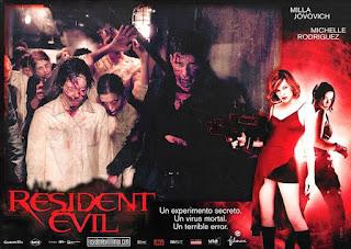 Film video game resident evil