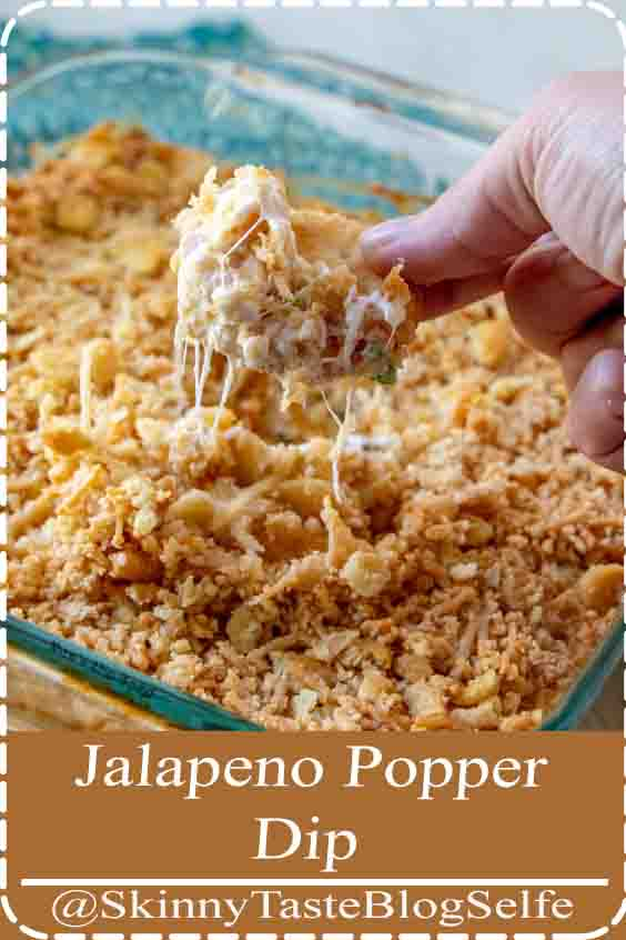 4.8 | ★★★★★  Jalapeno Popper Dip - This hot, but not spicy, dip make a great party dip.   Perfect appetizer for bridal showers, baby showers, football games, tailgating and game night.  An easy appetizer anyone can make! #Jalapeno #PopperDip #spicy #easy