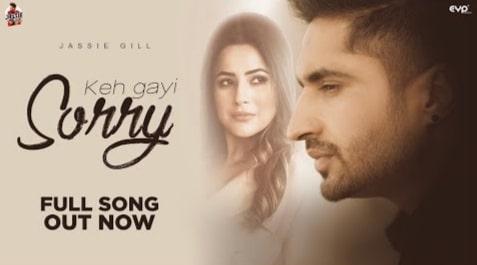 Keh Gayi Sorry Lyrics in Hindi and English, Jassie Gill, Punjabi Songs Lyrics in Hindi, Punjabi Lyrics, Lyrics in Hindi, Lyrics in English