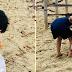 Batang Hapon na Nagpupulot ng Basura sa Isang Beach sa Pangasinan, Hinangaan ng mga Netizens