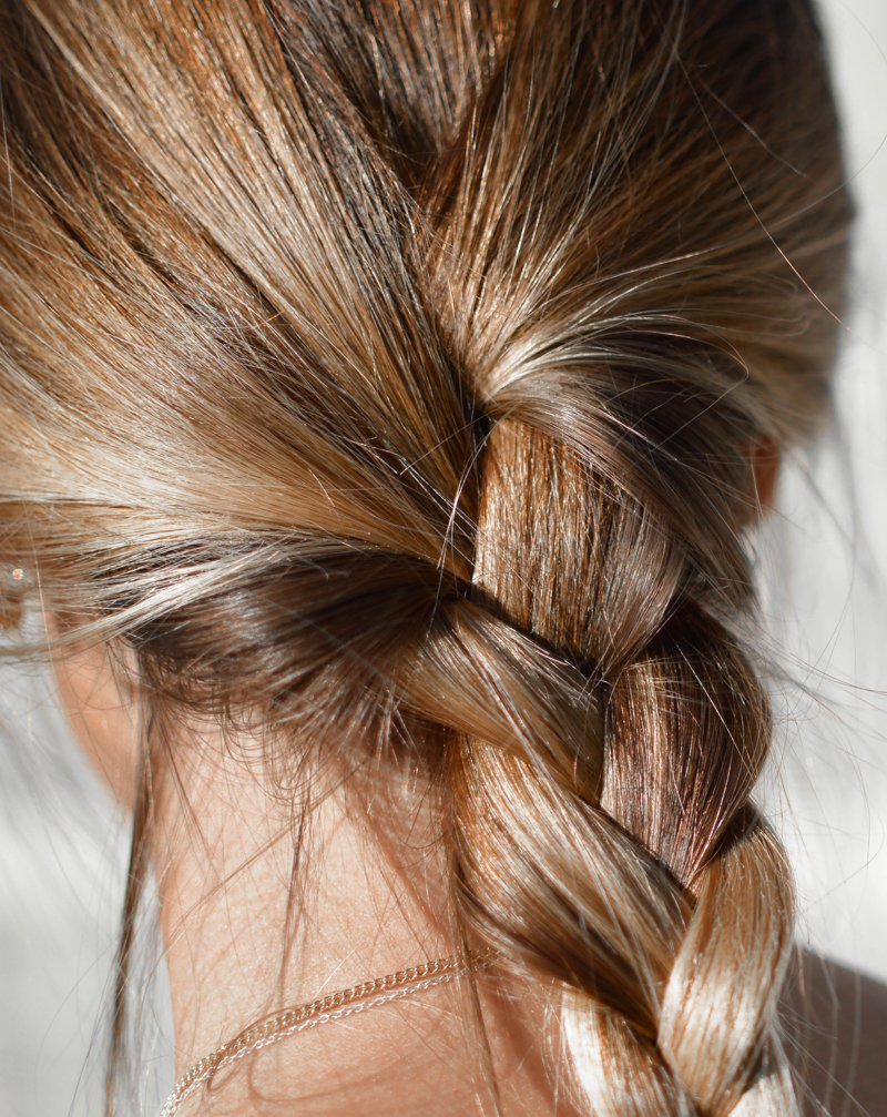 Óleo para cabelo anti queda e anti frizz