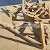 Destruyen implementación de BMX instalada en cancha de población Santa Rosa