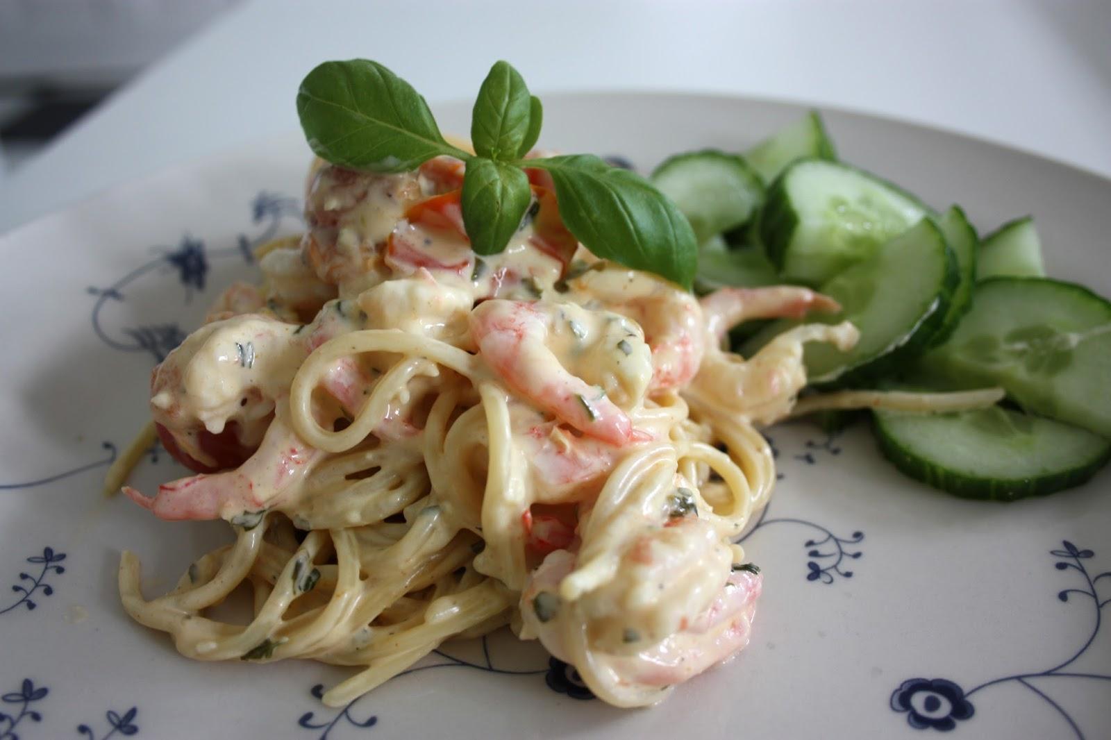 Krämig pasta recept