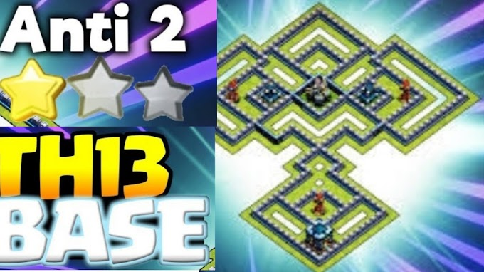 Top-10 Best TH13 War Base Links 2020 | For Clan war league