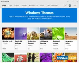 Langkah 3 Cara Download dan Mengganti Tema Windows 10