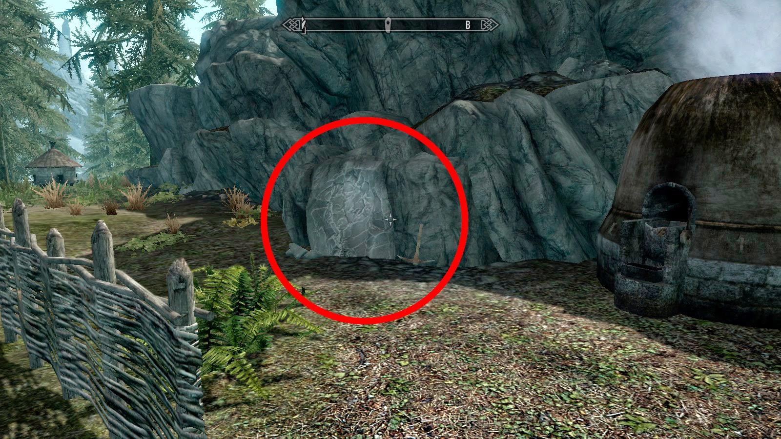 Скайрим воронья скала где находится