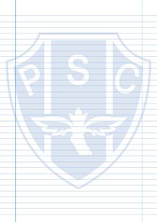 Papel Pautado do Paysandu PDF para imprimir na folha A4