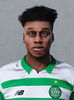 PES 2020 Faces Jeremie Frimpong by Ultra1312